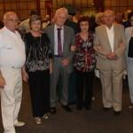 В кулуарах. (Третий слева - Д. Левин, председатель ВОВУ)