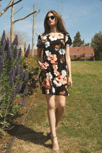 Honigman цветочный принт_платья