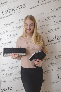 Людмила Корелова, популярная лайф-стайл блогер на презентации праздничной обуви Lafayette Italy