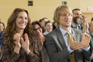 "Julia Roberts as ""Isabel"" and Owen Wilson as ""Nate"" in WONDER."