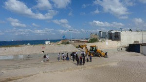 10 km svobodi - Snos steni VMF - Haifa