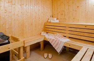 ספא מלון היוקרה הרודס ים המלח, Sauna