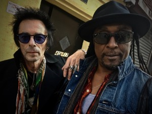 Picture shows_Bernard Fowler and Earl Slick