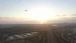 מטוס מעל ראשון לציון- עיריית ראשלצ הגישה בגצ