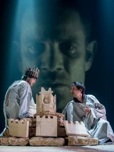 Сцена из спектакля «Книга царя Давида», фотограф Сергей Фишбах